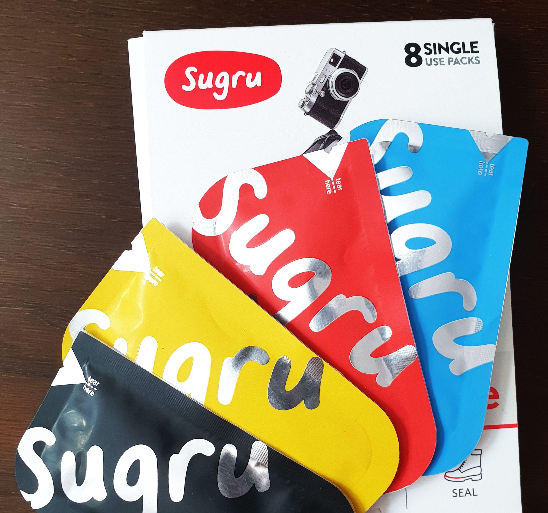 Sugru - aushärtende Silikonknete - 24 Päckchen als 3-für-2 Deal