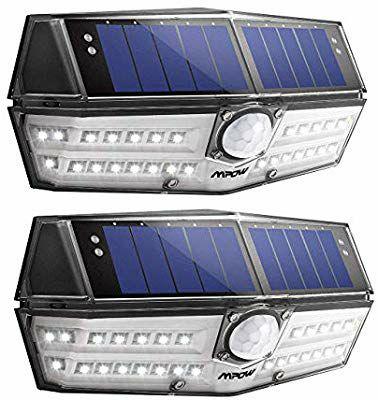 Mpow Solarleuchte mit 30 leds