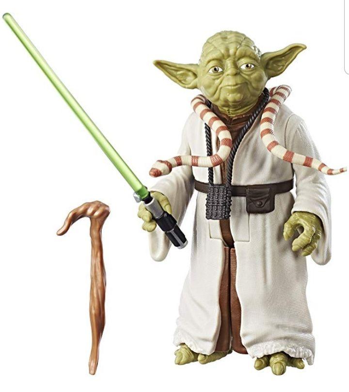 Star Wars Yoda Figur (ca. 18 cm) für 12,99 € (auch ohne Amazon Prime)