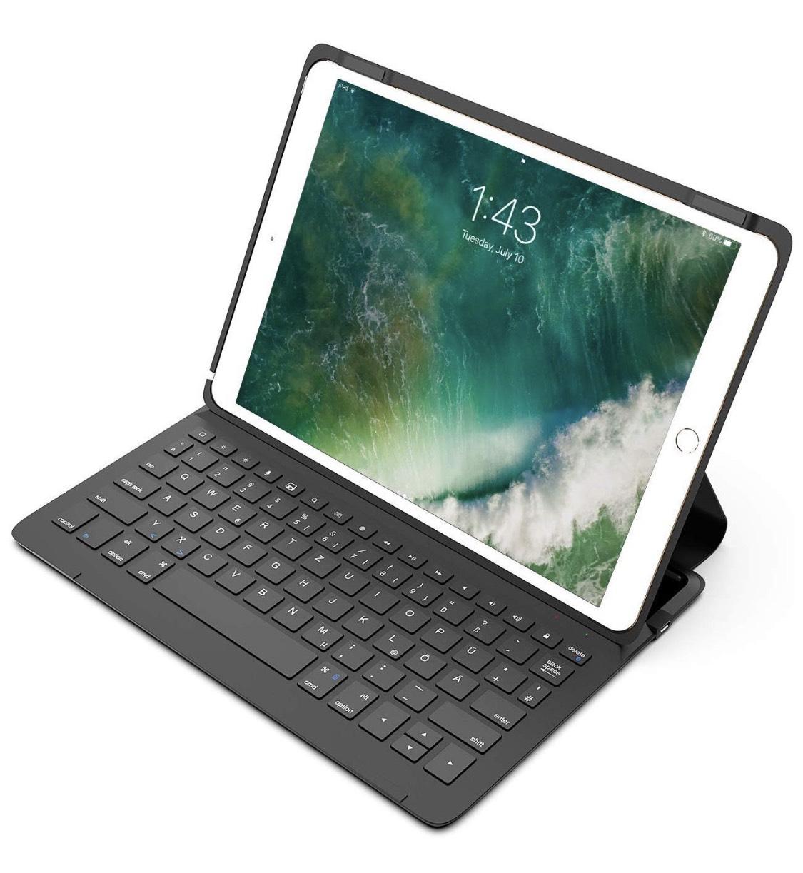 """[Amazon] Inateck Bluetooth Tastatur/Hülle Ipad Air 2019 + Ipad Pro 10,5"""""""