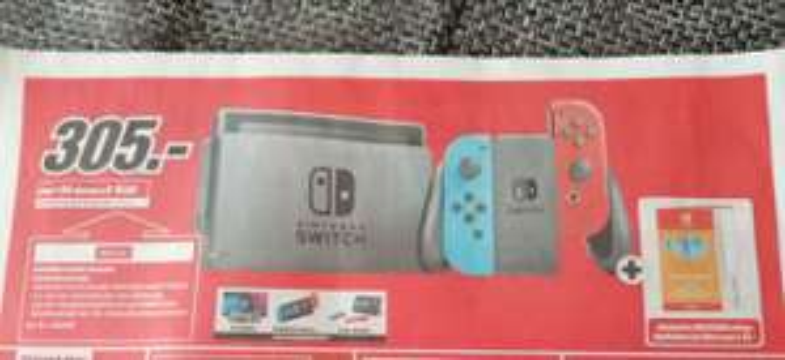 Lokal Krefeld Nintendo Switch inkl. 35 € eShop Guthaben