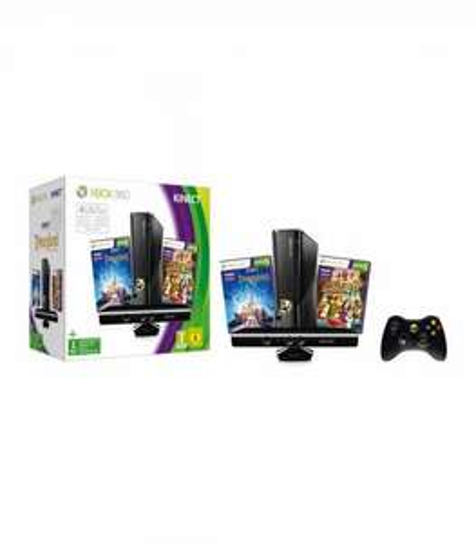 Xbox 360 4 GB Kinect + Kinect Disneyland Adventures Bundle für effektiv 240,90 €