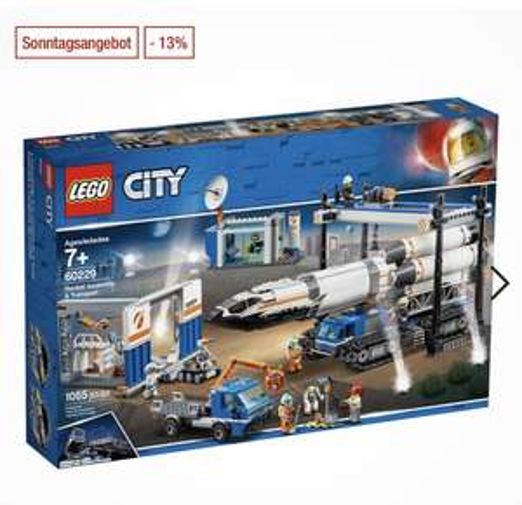LEGO City , Raketenmontage & Transport 60229 (Release Juni 19')