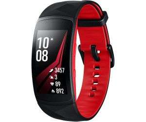 Samsung Gear Fit 2 Pro, Fitness Armband, Silikon, L, Rot [Saturn & Amazon]