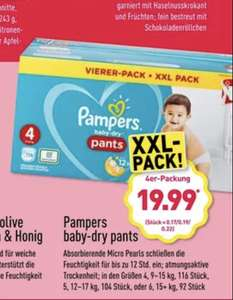 [Aldi Nord] Pampers Pants Viererpack XXL Pack