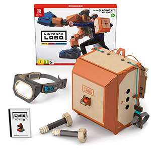 Nintendo Labo: Toy-Con 02 - Robot Kit (Switch) für 25€ (Amazon Prime)