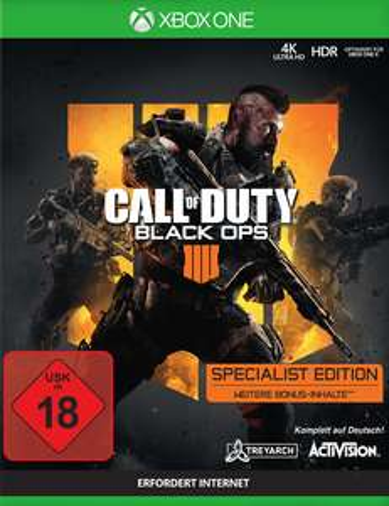 Call of Duty: Black Ops 4 Specialist Edition (Xbox One) für 22€ (GameStop)