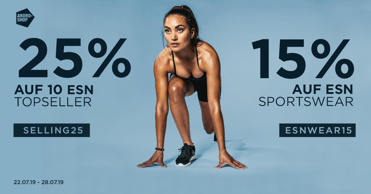 [Team-Andro / Fitmart] 25% auf 10 ESN Topseller, 15% auf ESN Sportswear