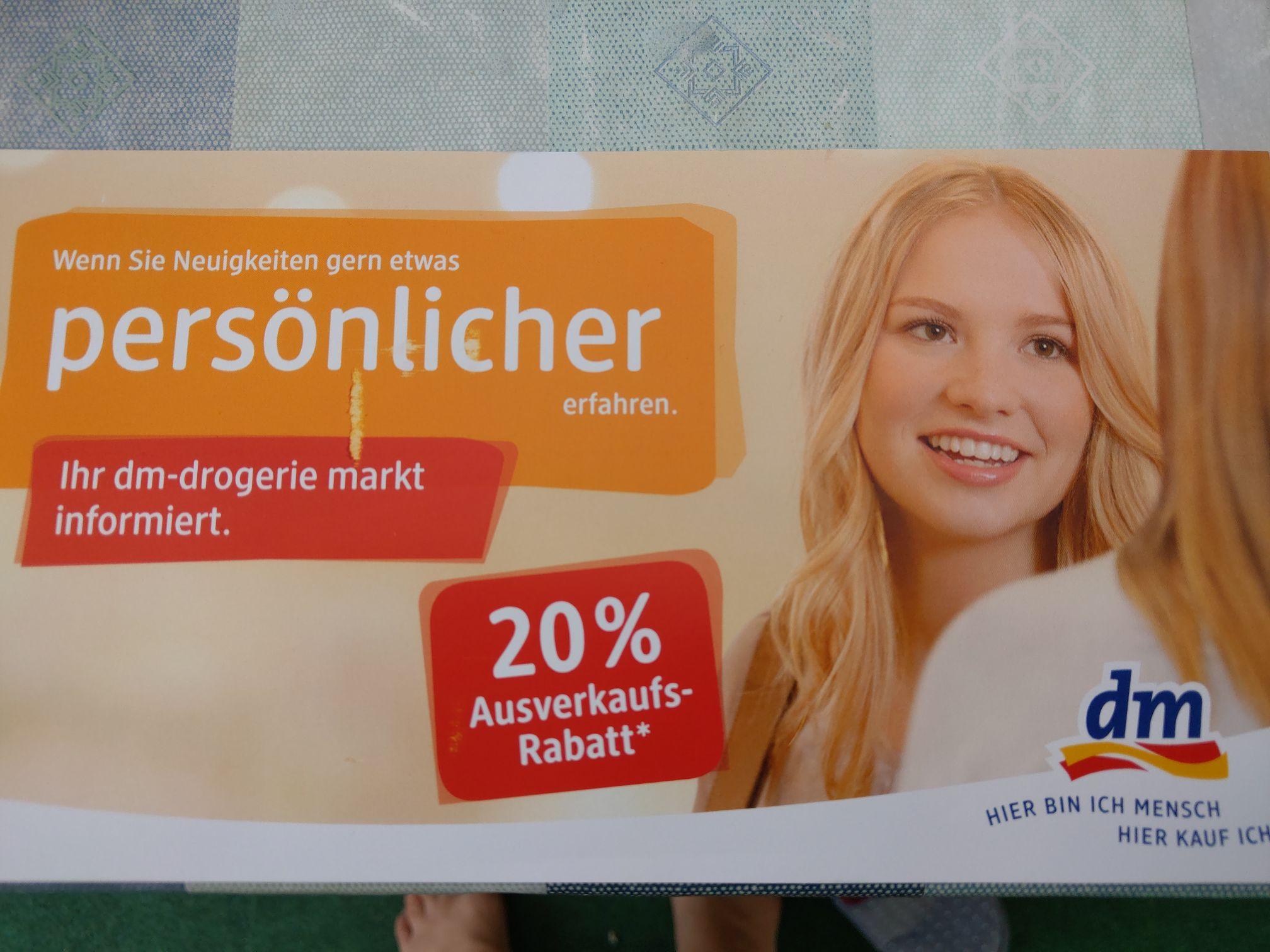Lokal 75417 Mühlacker - dm 20% Ausverkaufsrabatt