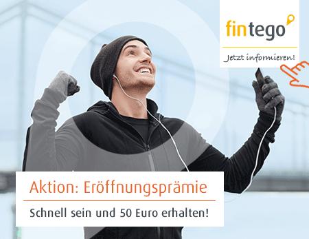 Fintego Depot - KWK 50€ + 50€