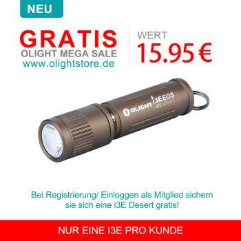 Olight I3E EOS (AAA) Taschenlampe