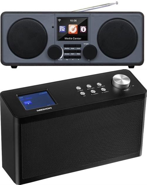 DAB-Radios mit WLAN & Webradio für je 59,95€: Medion P85060 (2x2,8 Watt) oder Xoro DAB 600 IR (2x5 Watt)