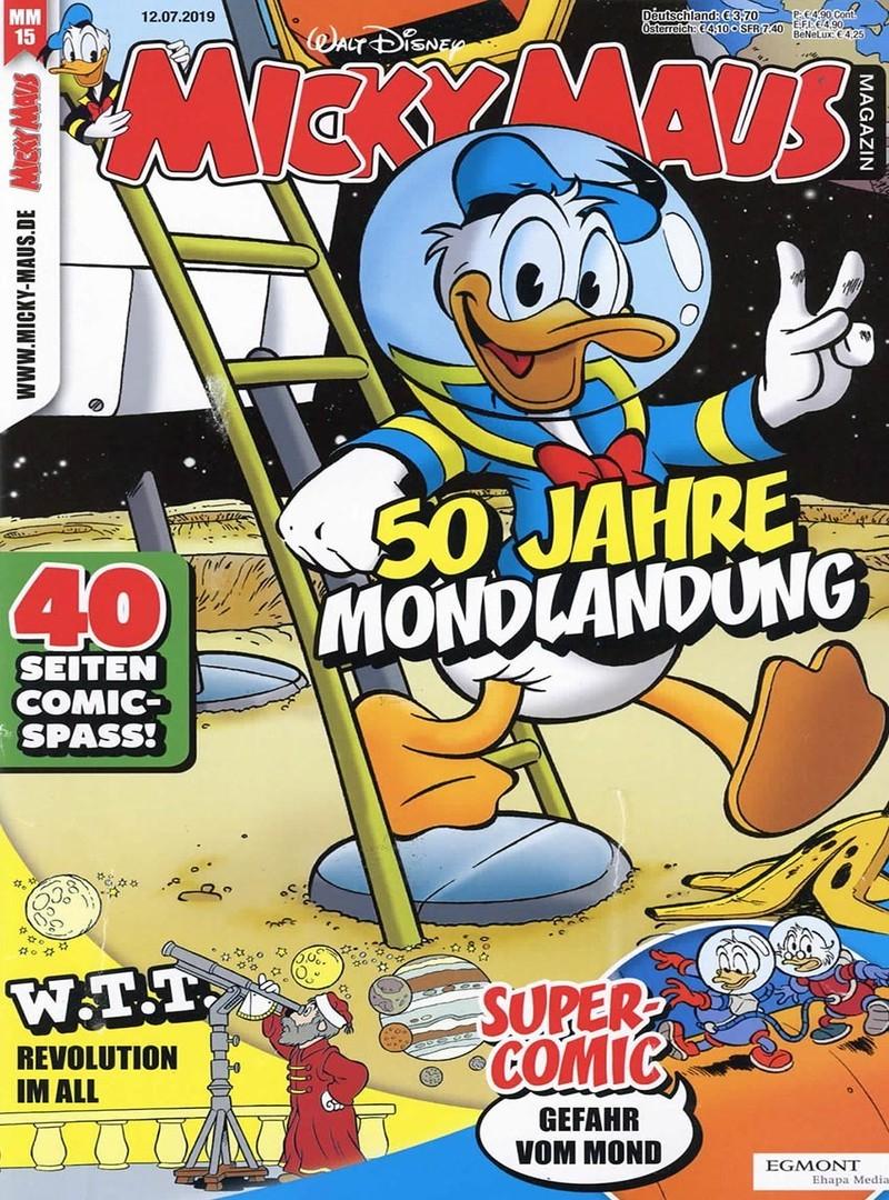 Micky Maus Abo (26 Ausgaben) mit 50% Rabatt für 53,30 €