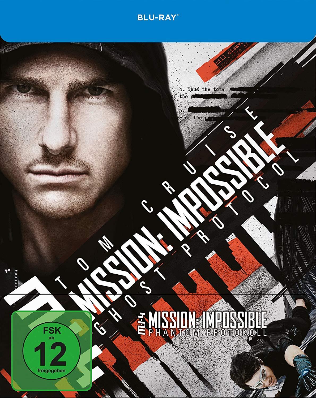 Mission: Impossible - Ghost Protocol Limited Steelbook Edition (Blu-ray) für 6,99€ versandkostenfrei (Media Markt)