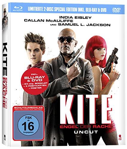 Kite - Engel der Rache Limited Mediabook Edition (Blu-ray + DVD) für 4,99€ (Amazon Prime & Saturn & Media Markt)