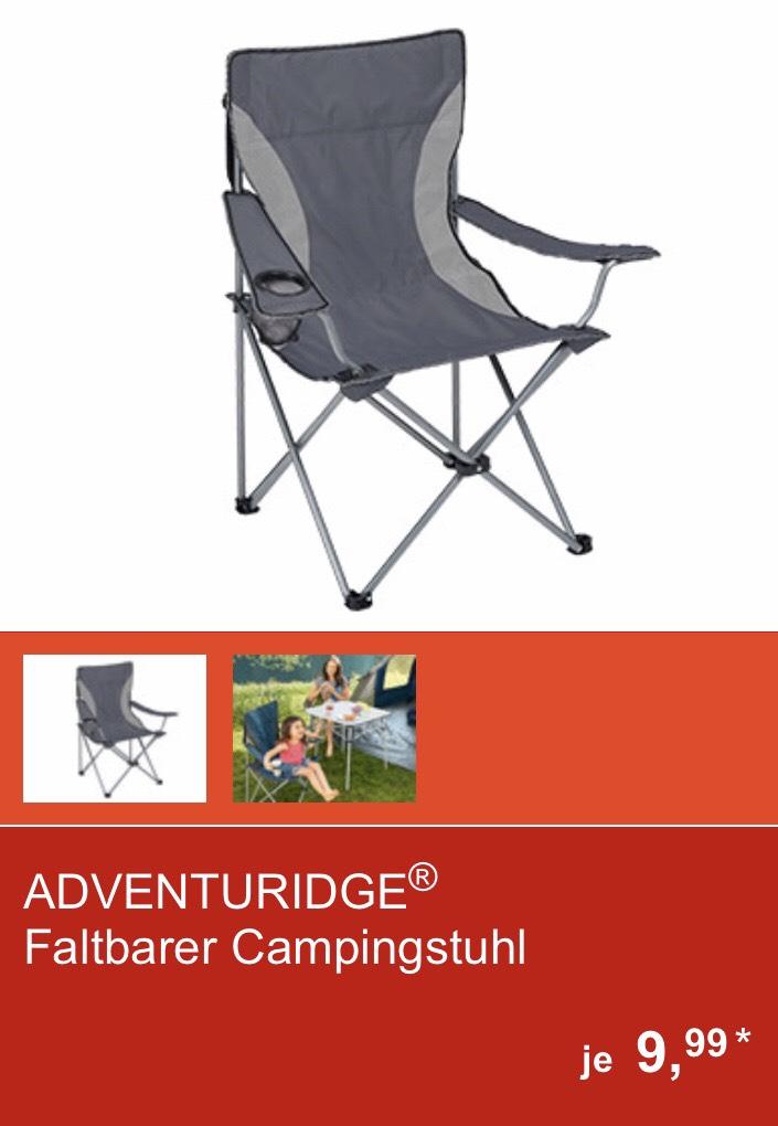 Adventuridge Faltbarer Campingstuhl [Aldi Süd-lokal?]
