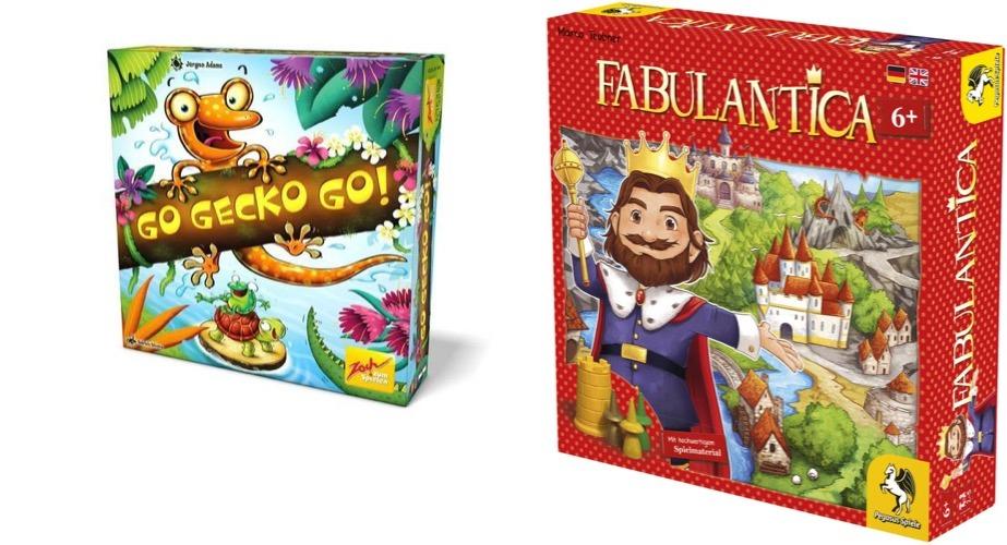 Nominiert zum Kinderspiel des Jahres 2019: Pegasus Fabulantica für 16,99€ oder Zoch Go Gecko Go! für 19,99€ (Brettspiele)