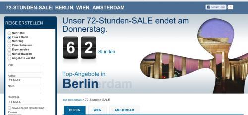 Hotels: Expedia Flash Sale mit bis zu 50% Rabatt + 10% Rabatt Gutschein