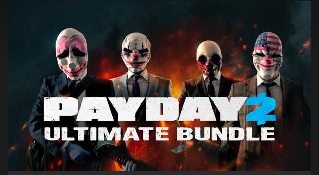 PAYDAY 2 Ultimate Bundle (Steam) für 4,49€