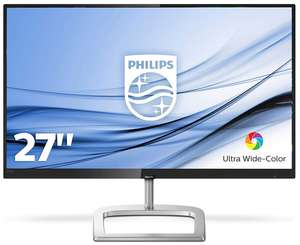 "Philips 278E9QJAB 27"" Monitor (FHD, VA Panel, matt, gebogen, 60Hz + AMD FreeSync, 4ms, 8bit, 250cd/m², HDMI, DP, VGA, Lautsprecher)"