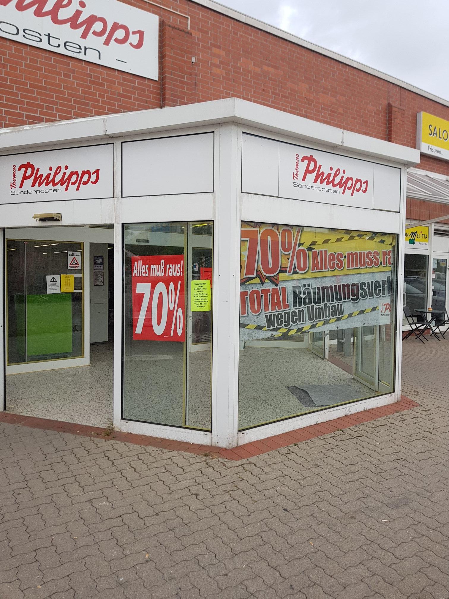 [Lokal] jetzt 70% Thomas Phillips Haldensleben - 50 Prozent auf alles