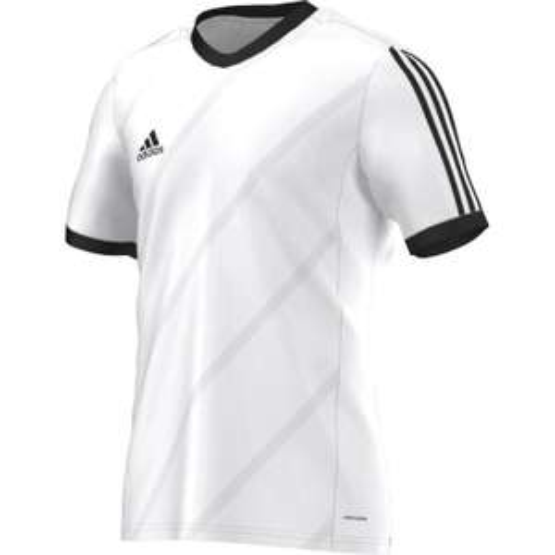adidas Tabela 14 Kurzarmtrikot in weiß / schwarz im 3er Pack (6,65€ / Stück) in Gr. S, M, XL + 2XL