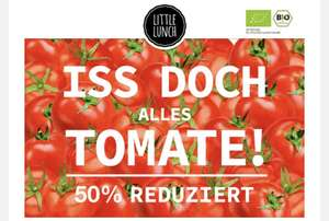 6er-Box Little Lunch 50% auf Tomatensuppe