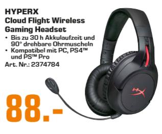 [saturn & amazon] Kingston HyperX Cloud Flight Headset | SONY Cyber-shot DSC-RX100 Mark I  für 279€ | CORSAIR K55 RGB für 39€ | uvm.