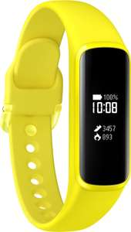 """Samsung Galaxy Fit E Fitnesstracker (Pulsmesser, Schrittzähler, Schlafüberwachung usw, IP68, Bluetooth 5.0 LE, 0,74"""" monochrom Touch-PMOLED)"""