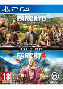 Far Cry 5 + Far Cry 4 Double Pack (PS4) für 25,02€ (SimplyGames)