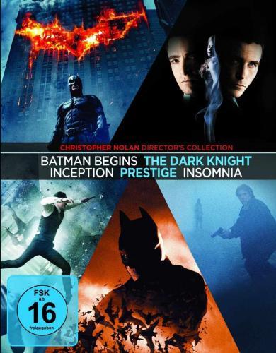Christopher Nolan Collection [Blu-ray] für 27,99 €@ Amazon. de