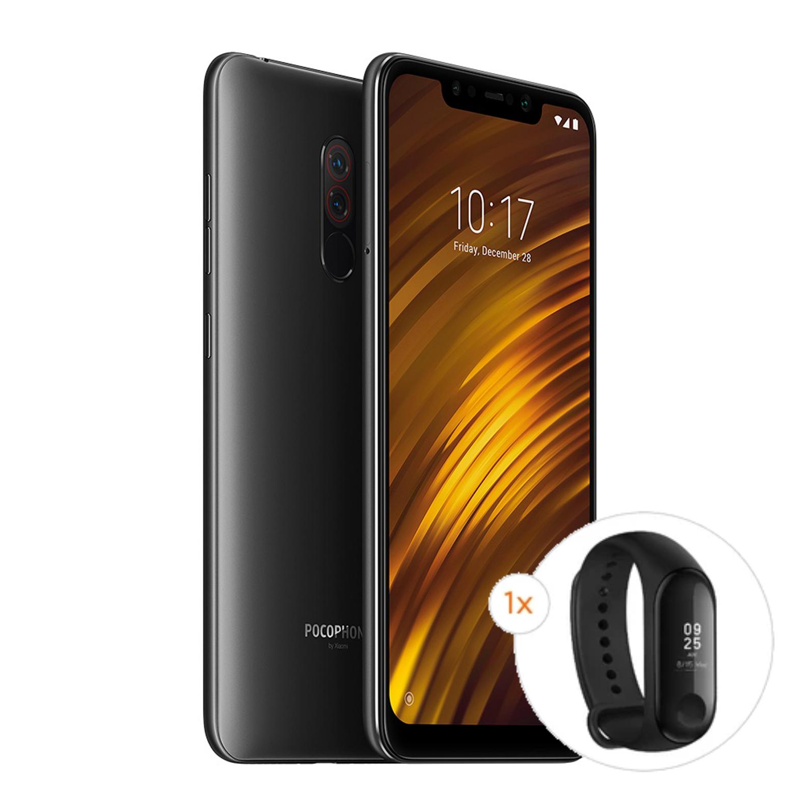 [Xiaomi Store] Xiaomi Pocophone 128/6GB - Snapdragon 845 - 4000mAh Akku + Xiaomi Mi Band 3 für 241,05€