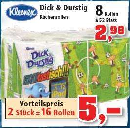 [Thomas Philipps] Kleenex Dick & Durstig Küchenrollen & Smirnoff Vodka Red Label