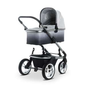Moon SOLITAIRE Premium Kombi-Kinderwagen - Degradee