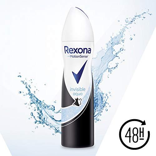 Rexona Deospray Invisible Aqua Anti-Transpirant, 150 ml, 6er Pack (6 x 150 ml)