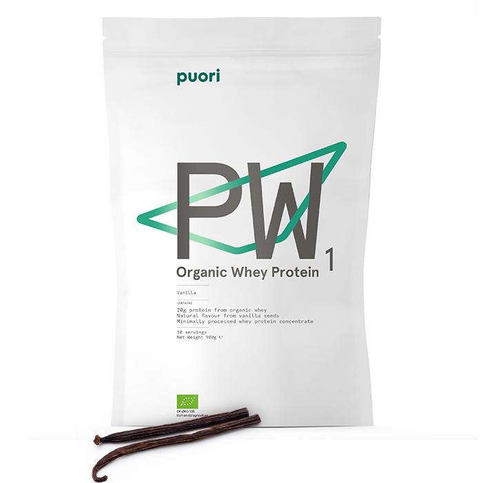 50% Rabatt auf Puori's PW1 Protein (900 gr)