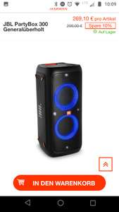 JBL Partybox 300 B Ware Outlet