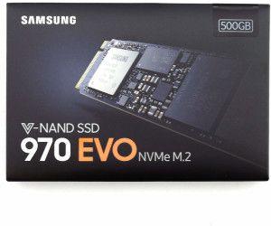 Samsung MZ-V7E500BW SSD 970 EVO 500 GB M.2 Interne NVMe SSD (bis zu 3.400 MB/s) [Amazon]