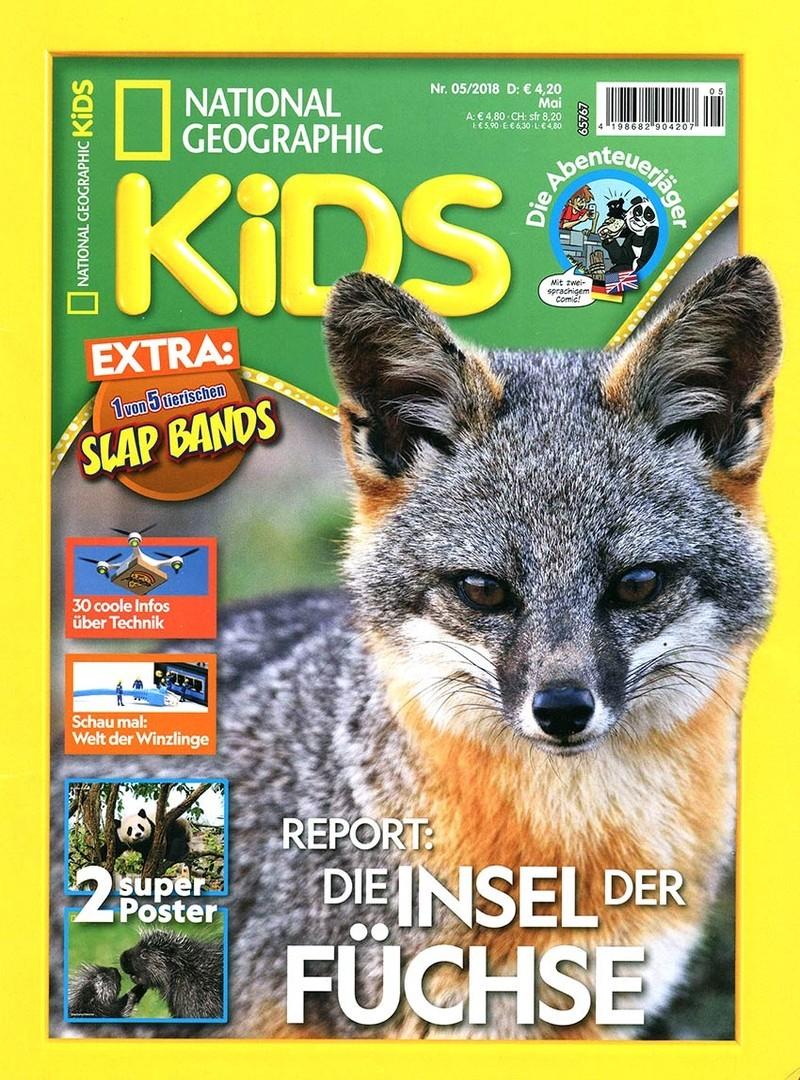 National Geographic KiDS Magazin Abo (5 Ausgaben) mit 50% Rabatt für 10,50 €