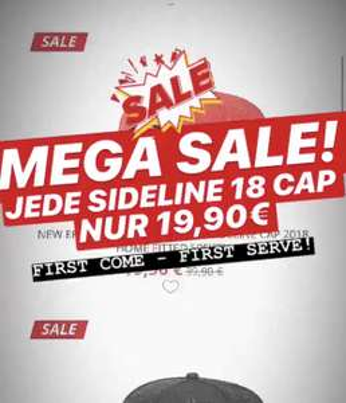 NFL Sideline Caps 2018 für 19,90€