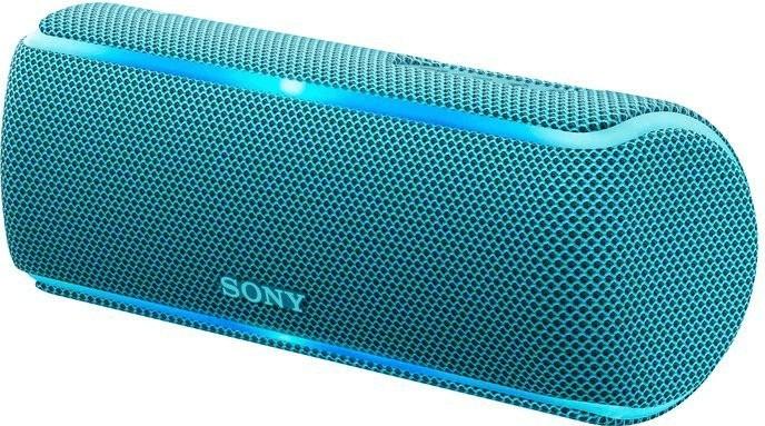 Sony SRS-XB21 kabelloser Bluetooth Lautsprecher, Extra Bass,NFC,wasserabweisend (Blau & Gelb) für je 45€ versandkostenfrei (Amazon & Saturn)
