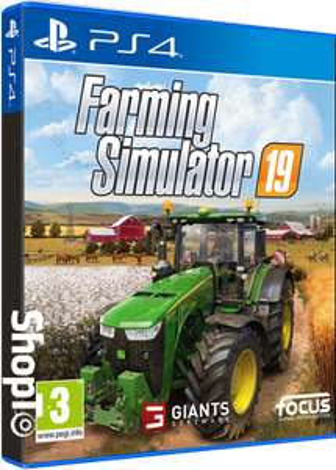 Farming Simulator 19 / Landwirtschafts-Simulator 19 für Ps4 Playstation 4