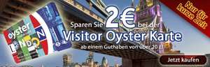 Visitor Oyster Card London 2€ sparen