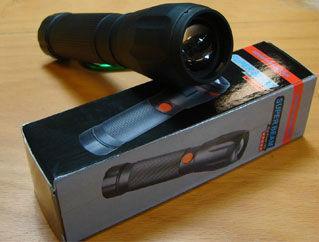 Taschenlampe Cree LED Kunststoffgehäuse