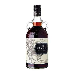 The Kraken Black Spiced Rum (Amazon Prime)