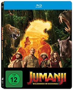Jumanji: Willkommen im Dschungel Limited Steelbook Edition (Blu-ray + Digital HD) für 2€ (Media Markt)