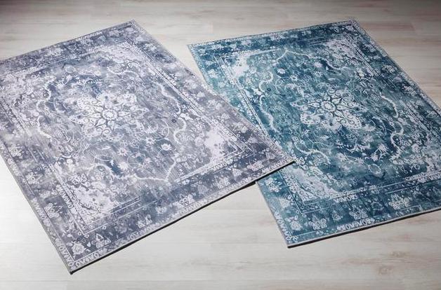 Tuftteppich Samira in Blau und Grün (160x230cm) für 30€ oder 120x170cm für 19,99€