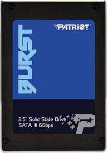 "Patriot Burst 480GB, 2.5"" SATA SSD, Dram cache: 32MB, Lesen: 560 MB/s, Schreiben: 540 MB/s - Cold? Really George?"