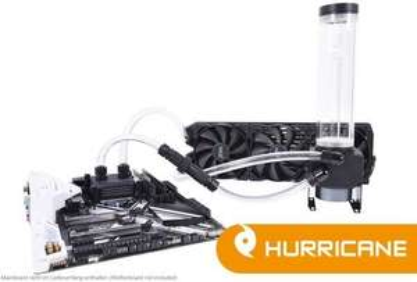 (Wasserkühlung PC) Alphacool Eissturm Hurricane Copper 45 - 3 x 120mm Lüfter