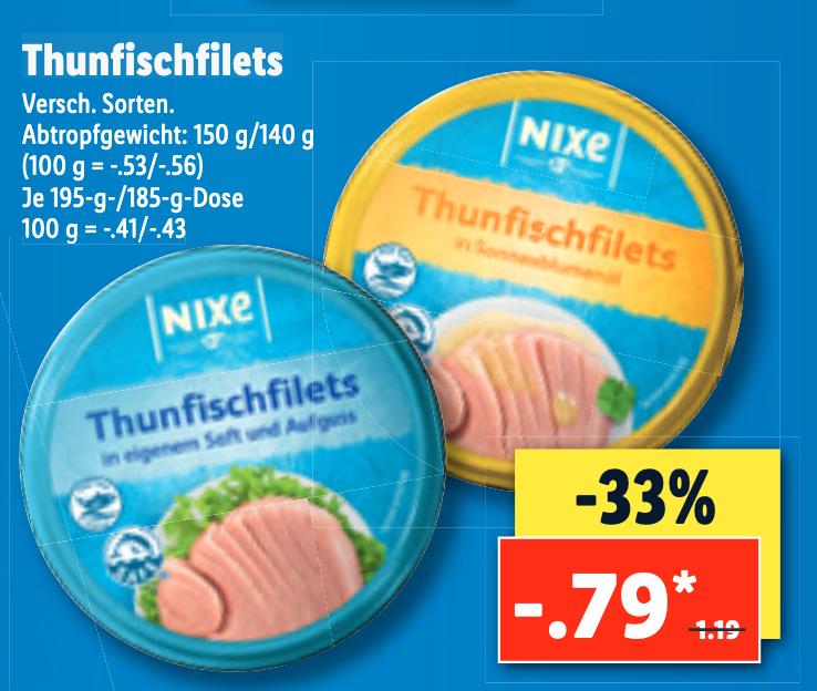 [LOKAL - Freiburg] Eröffnung LIDL Haslach - Nixe-Thunfisch